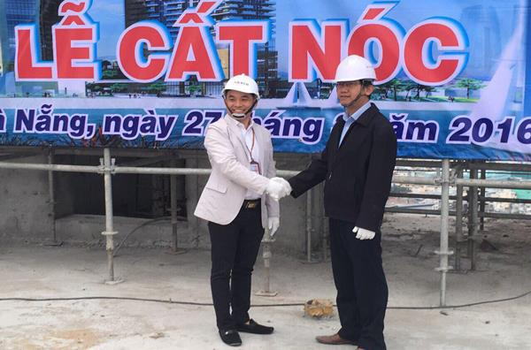 Roofing Ceremony of Hilton Hotel Danang
