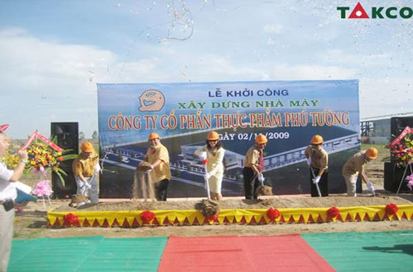 Opening Ceremony Of Phu Tuong Confectionery Factory
