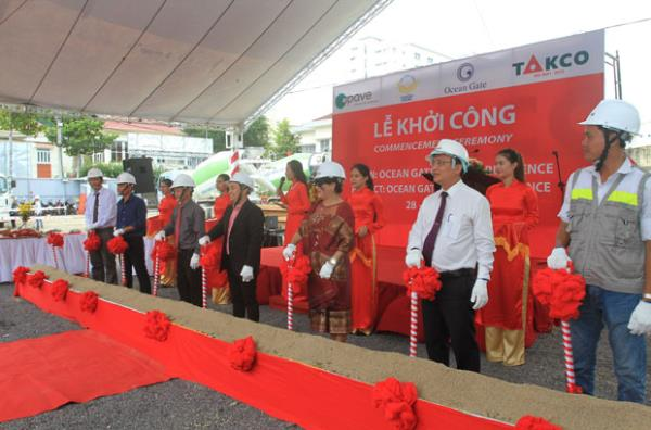 Commencement Ceremony of Ocean Gate Hotel & Residence Project in Nha Trang City