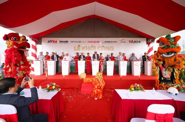 Commencement Ceremony of Aska Solar Farm project in Cam Lam - Khanh Hoa