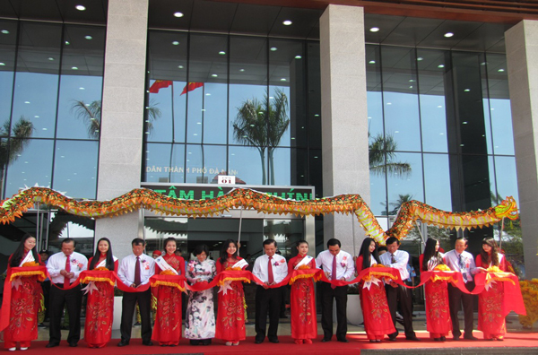 Inaugurated the administrative center of Da Nang city